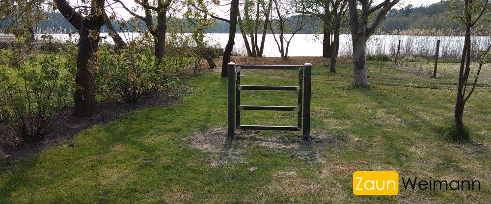 Tür für Zaun